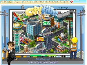 CityVille Loading Screen